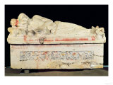 Sarcophagus, Etruscan Giclee Print