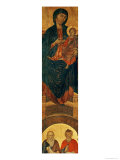 Madonna and Child Enthroned, circa 1280-85 Giclée-tryk af Cimabue