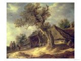 The Marsh, circa 1660 Giclee Print by Jacob Isaaksz. Or Isaacksz. Van Ruisdael