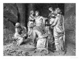 Apollo Tended by the Nymphs in the Grove of the Baths of Apollo Giclee Print by François Girardon