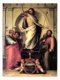The Resurrection of Christ Giclée-tryk af Fra Bartolommeo
