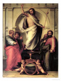The Resurrection of Christ Giclee Print by Fra Bartolommeo