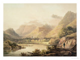 Ghirimeer, on the Upper Lake of Killarney Giclee Print by Francis Nicholson