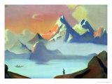 Tibet, 1936 Giclee Print by Nikolai Konstantinovich Rerikh