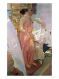 After the Bath, 1916 Giclee Print by Joaqu&#237;n Sorolla y Bastida