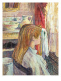Woman at the Window, 1893 Giclee Print by Henri de Toulouse-Lautrec