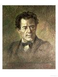 Gustav Mahler Premium Giclee Print by Anton Wagner