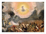 The Last Judgement Giclee Print by Conrad Meyer