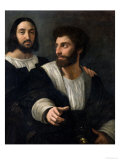 Self Portrait with a Friend Reproduction procédé giclée par  Raphael