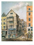 Corner of Fleet Street and Chancery Lane Giclee Print by William Alexander