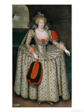 Anne of Denmark, circa 1605-10 Giclee Print by Marcus Gheeraerts