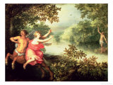 Hercules, Deianeira and the Centaur Nessus, 1612 Reproduction procédé giclée par David Vinckboons