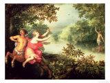 Hercules, Deianeira and the Centaur Nessus, 1612 Giclee Print by David Vinckboons