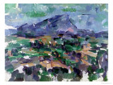 Montagne Sainte-Victoire, 1904-06 Giclee Print by Paul Cézanne
