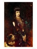 Empress Elizabeth of Bavaria Giclee Print by Anton Romako
