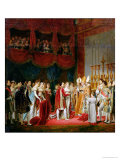The Marriage of Napoleon I and Marie Louise Archduchess of Austria, 2nd April 1810, 1810 Reproduction procédé giclée par Georges Rouget