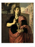 St. John the Evangelist Giclee Print by Domenico Fetti