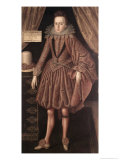 Charles I as Prince of Wales, circa 1612-13 Giclee Print by Robert Peake The Elder
