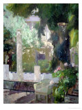 The Gardens at the Sorolla Family House, 1920 Premium Giclee Print by Joaquín Sorolla y Bastida