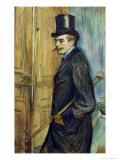 Louis Pascal, 1891 Giclee Print by Henri de Toulouse-Lautrec
