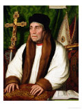 Portrait of William Warham Archbishop of Canterbury, 1527 Giclee Print by Hans Holbein the Younger
