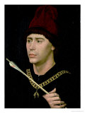 Portrait of Antoine Bastard of Burgundy, Knight of the Order of the Golden Fleece, circa 1456 Giclee Print by Rogier van der Weyden
