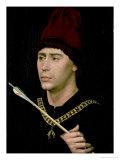 Portrait of Antoine Bastard of Burgundy, Knight of the Order of the Golden Fleece, circa 1456 Giclee Print by Rogier van der Weyden