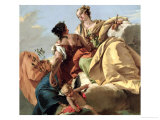Justice and Peace Giclee Print by Giovanni Battista Tiepolo
