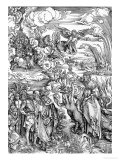 "The Babylonian Whore from the ""Apocalypse"" or ""The Revelations of St. John the Divine"", Pub. 1498 Giclee Print by Albrecht Dürer"