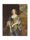 Anne Carr, Countess of Bedford, circa 1638 Giclee Print by Sir Anthony Van Dyck