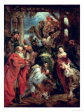 Adoration of the Magi, 1624 Giclee Print by Peter Paul Rubens