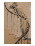 The Staircase Giclee Print by Paul César Helleu