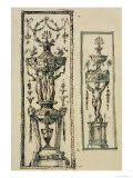 Sketched Designs for Ornate Panels Giclee Print by Robert Adam