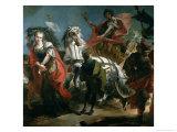 The Triumph of Marcus Aurelius Giclée-tryk af Giandomenico Tiepolo