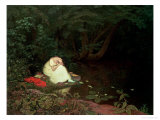 Disappointed Love, 1821 Premium Giclee Print by Francis Danby