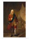King George II, 1759 Giclee Print by Robert Edge Pine