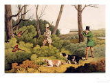 Pheasant Shooting, Pub. by Thomas Mclean, 1820 Giclee Print by Henry Thomas Alken