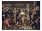 The Queen of Sheba Before Solomon Giclee Print by Mattia Preti