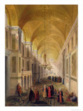 Haghia Sophia, Plate 2: the Narthex Published 1852 Giclee Print by Gaspard Fossati