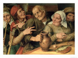 Jovial Company, 1564 Giclee Print by Jan Metsys