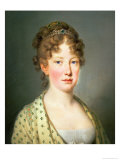 Archduchess Leopoldina of Austria, 1st Wife of Emperor Dom Pedro IV of Portugal Giclee Print by Josef Kreutzinger