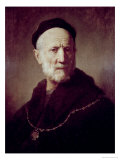 Portrait of Rembrandt's Father Giclee Print by  Rembrandt van Rijn