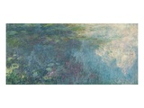 The Waterlilies - the Clouds, 1914-18 Giclee Print by Claude Monet