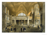 Haghia Sophia, Plate 9: the New Imperial Gallery, Published 1852 Giclee Print by Gaspard Fossati