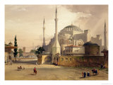Haghia Sophia, Plate 17: Exterior View of the Mosque, Published 1852 Giclee Print by Gaspard Fossati
