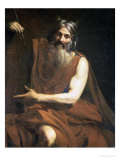 Moses with the Tablets of the Law, circa 1627-32 Gicl&#233;e-Druck von Valentin de Boulogne 