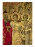 Maesta: Saints, 1308-11 Giclée-tryk af  Duccio di Buoninsegna