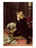 What Shall I Read Giclee Print by Florence Marlowe