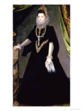 Infanta Isabella Clara Eugenia, Daughter of King Philip II of Spain and Isabella of Valois, 1599 Giclee Print by Sofonisba Anguisciola