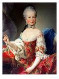 Archduchess Maria Amalia Habsburg-Lothringen, Giclee Print by Martin van Meytens